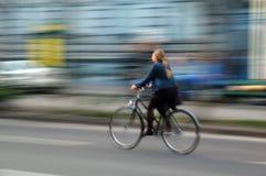自行车斋戒 免版税库存图片