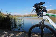 自行车旅行 免版税库存图片