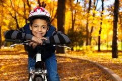 自行车是乐趣 库存照片