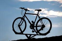 自行车显示 免版税图库摄影