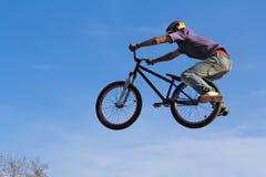 自行车极端 免版税库存照片
