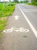 自行车标志 库存照片