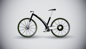 自行车概念都市产品的运输 库存图片