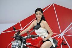 自行车模型 免版税库存照片