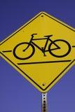 自行车横穿 库存图片