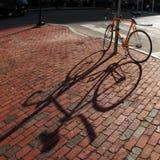 自行车正方形 图库摄影