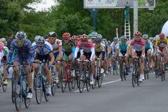 自行车比赛天际公园2013年在基辅 库存照片