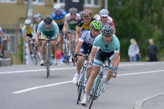 自行车比赛天际公园2013年在基辅 免版税库存图片