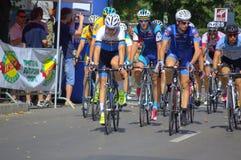 自行车比赛细气管球 图库摄影
