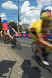 自行车比赛 免版税库存图片