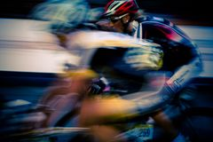 自行车比赛 免版税库存照片