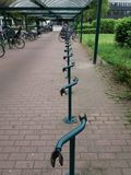 自行车沥青 库存照片