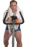自行车油脂人 图库摄影
