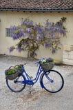 自行车法语 库存图片