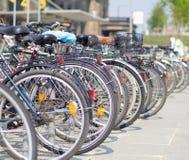 自行车游行 免版税库存照片