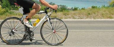 自行车特写镜头 库存图片