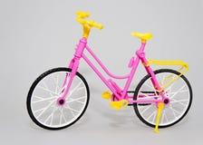 自行车玩具背景 免版税库存照片