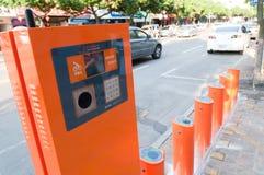 自行车瓷公共系统 库存照片
