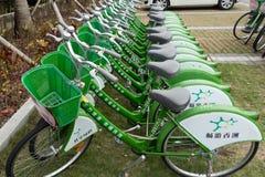 自行车瓷公共 免版税库存照片