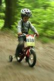 自行车男孩tittle 库存照片