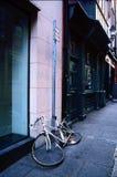 自行车疲倦了 免版税库存图片
