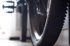 自行车的片段背景  免版税库存图片