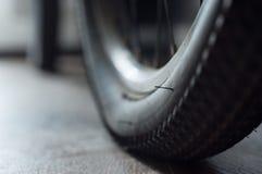 自行车的片段背景  免版税库存照片