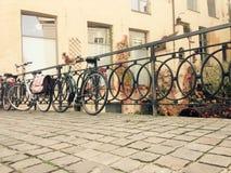 自行车的生活 库存图片