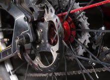 自行车的盘式制动器 免版税库存照片