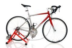 自行车种族路 免版税库存照片