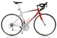 自行车种族路 免版税库存图片