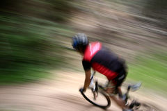 自行车种族 免版税库存照片