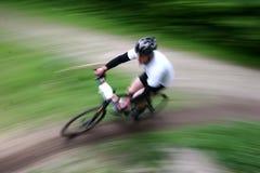 自行车种族 库存照片