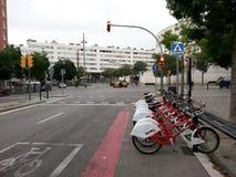 自行车租务 图库摄影