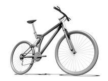 自行车空白 免版税库存照片