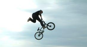 自行车空转 免版税库存照片