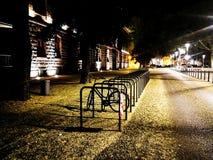 自行车立场 图库摄影