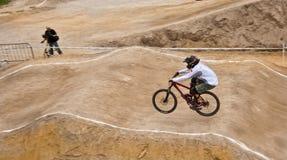 自行车竞争 免版税库存照片