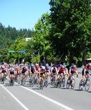 自行车竟赛者 免版税图库摄影