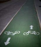 自行车符号 免版税库存图片