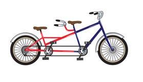 自行车纵排 库存图片