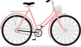 自行车经典之作夫人 免版税图库摄影