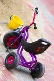 自行车结构树轮子 免版税库存照片