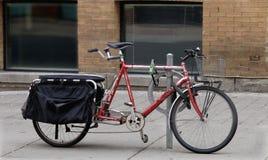 自行车老纵排 免版税图库摄影
