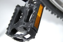 自行车脚蹬 免版税图库摄影