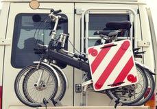 自行车行李架 库存图片