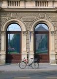 自行车街道 免版税库存图片