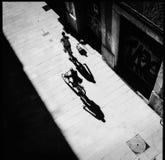 自行车西班牙 免版税图库摄影