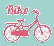 自行车设计 免版税库存图片