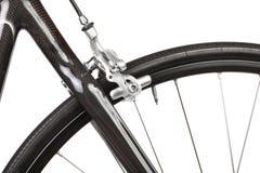 自行车详细资料路 免版税图库摄影